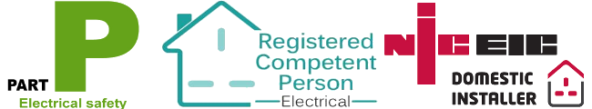 Electrician in Ringwood Bournemouth industry Logos